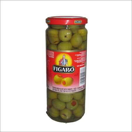 Figaro Plain Green Olives