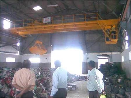 Double Girder EOT Grabbing Crane
