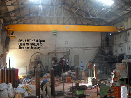 EOT Cranes for Steel Industry