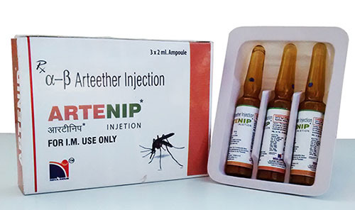 Artenip Injection (Anti Malarial)