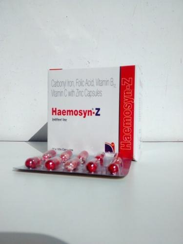 Haemosyn-Z Capsules