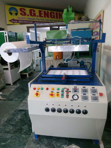 Brand S.G.Engineer Thermoformin/Thermocol Dona-plate Machine