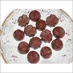 Different shape chocolate