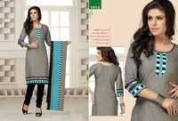 New Catalog Unstitched Cotton Salwar Kameez