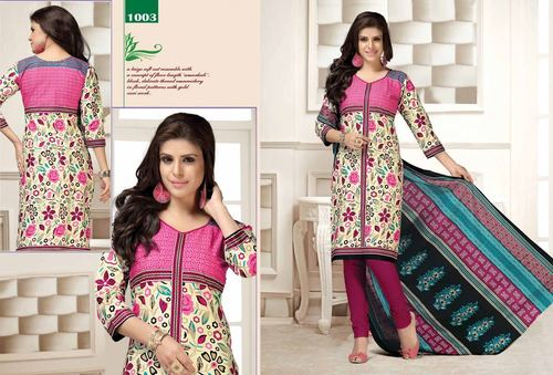 New Printed Cotton Dress Catalog