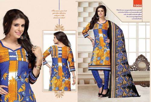 Wholesale Cotton Dress Materials Catalog