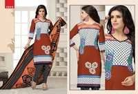 Cotton Printed Cotton Salwar Kameez