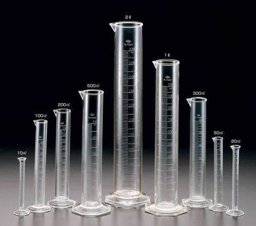 Cylinders, Measuring, Graduated