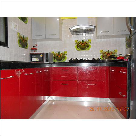 Classic Design Modular Kitchen