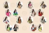Latest Cotton Suits Materials Catalog