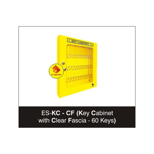 Clear Fascia Key Cabinet