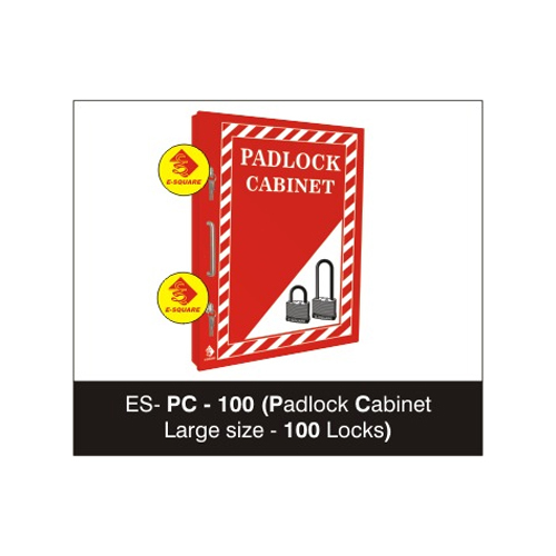 Lockout Padlock Cabinet Large size - 100 Locks
