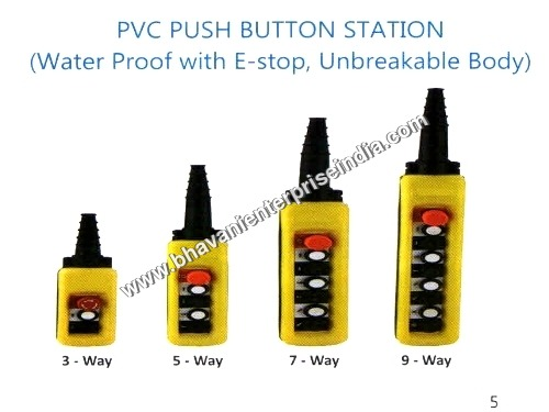 PVC Push Button Station