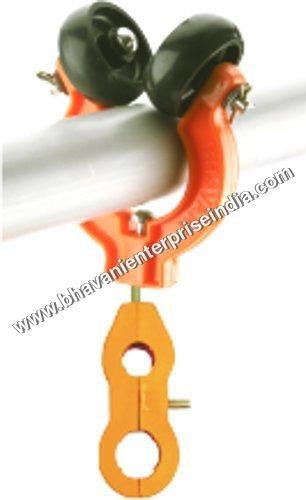 Plastics Double Wheel Pipe Trolley