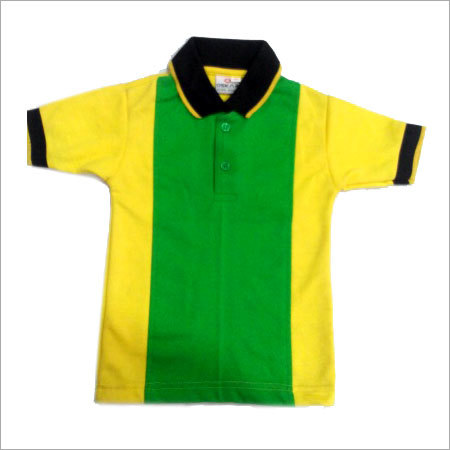 Yellow Green T Shirt