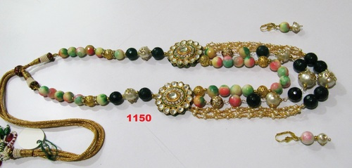 Multi Color Traditional Necklace Set