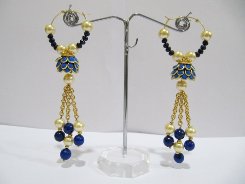 Pacchi Earrings Beaded jewellery