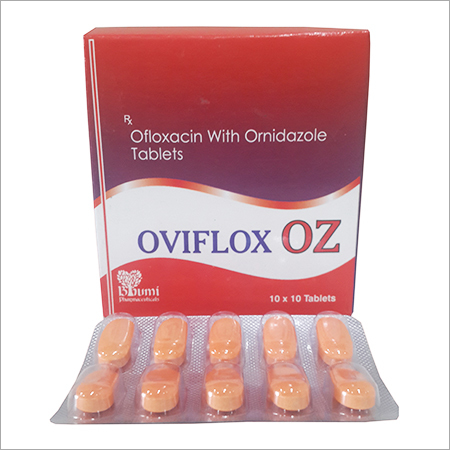 Ofloxacin with Ornidazole Tablet