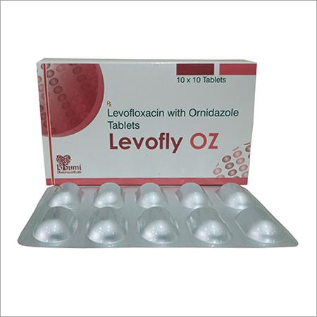 Levofloxacin  + Ornidazole