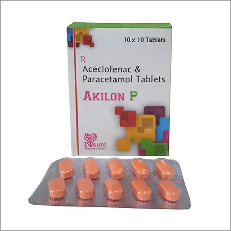 Aceclofenac  &  Paracetamol