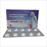Aceclofenac  , Paracetamol & Chlorzoxazone