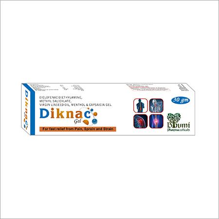 Linseed oil+Diclofenac Diethylamine+Methyl Salicilate & Menthol Gel