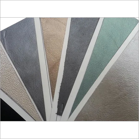 Metalic Upholstery Leather materials