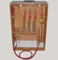 ORSAT GAS ANALYSIS APPARATUS FISCHER TYPE (PTFE Te