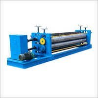Horizontal Barrel Sheets Roll Forming Machine