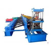 Two Waves Highway Guardrail Forming Machine