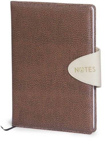 Brown Flap Note Book