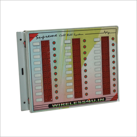 Wired 30 user call bell system