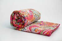 Kantha Paichley Print Quilt