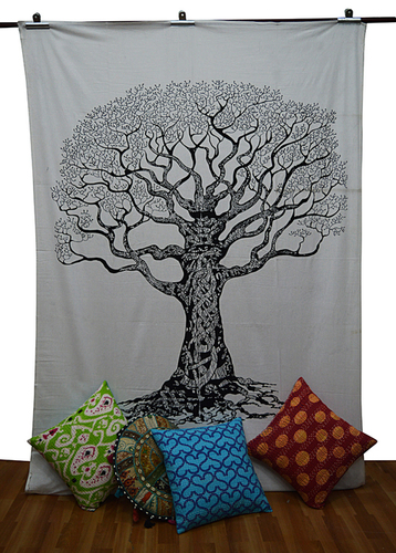 Tree Of Life Wall Hanging Tapestry