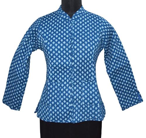 Kantha Indigo Jacket