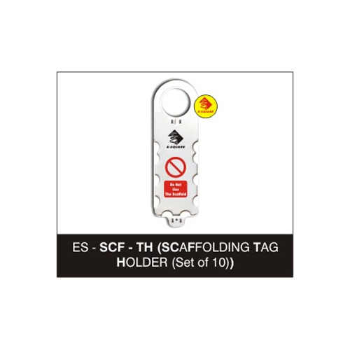 Safety Scaffolding Tag