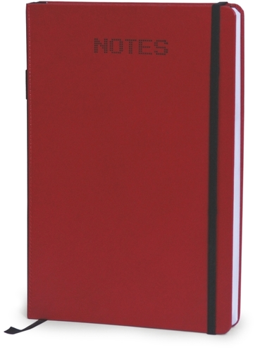 Red Round Note Book