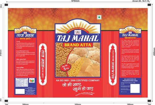 Taj Mahal Atta 5 Kg Pouch