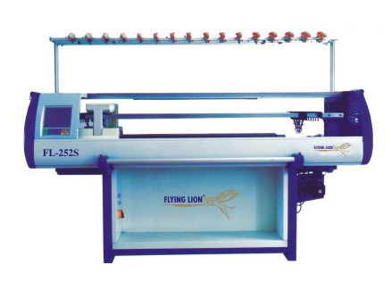 Double Carriage Flat Knitting Machine