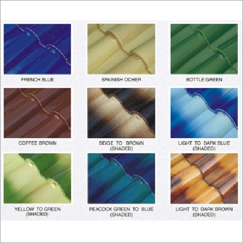 Colored Roof Tiles