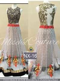 Fancy Designer Stylish Latest Net Lehenga