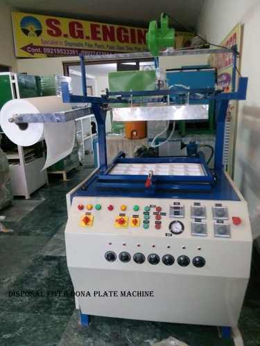 Semi Automatic Thermocol Dona Plate Making Machine in Bareilly
