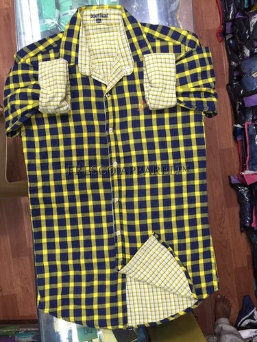 Cotton Checks Men Shirts