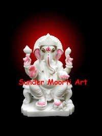 Ganesh Ji Marble Murti