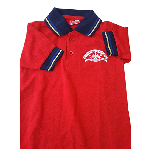 Red School T Shirt
