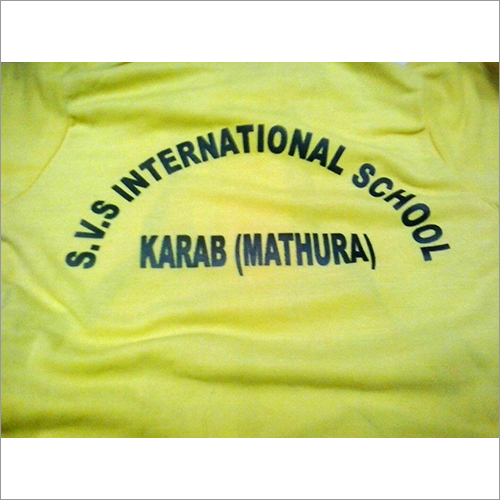 School Cotton T Shirt