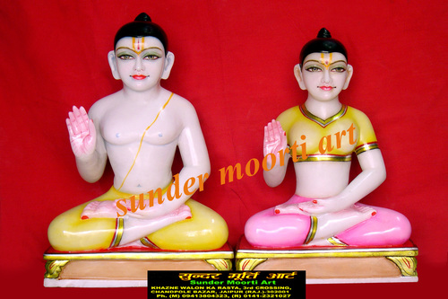 Marble Ram Pariwar statue manufacturer
