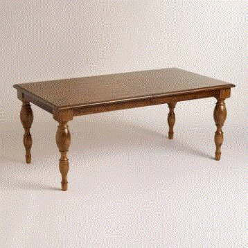 Wood Durham Extension Dining Table