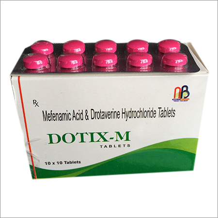 Mefenamic Acid & Drotaverine Hydrochloride Tablets