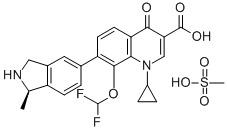 Garenoxacin Mesylate